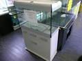 Aquarium avec meuble DESIGN BLANC 126l