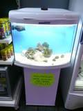 Aquarium équipé EAU DE MER avec meuble